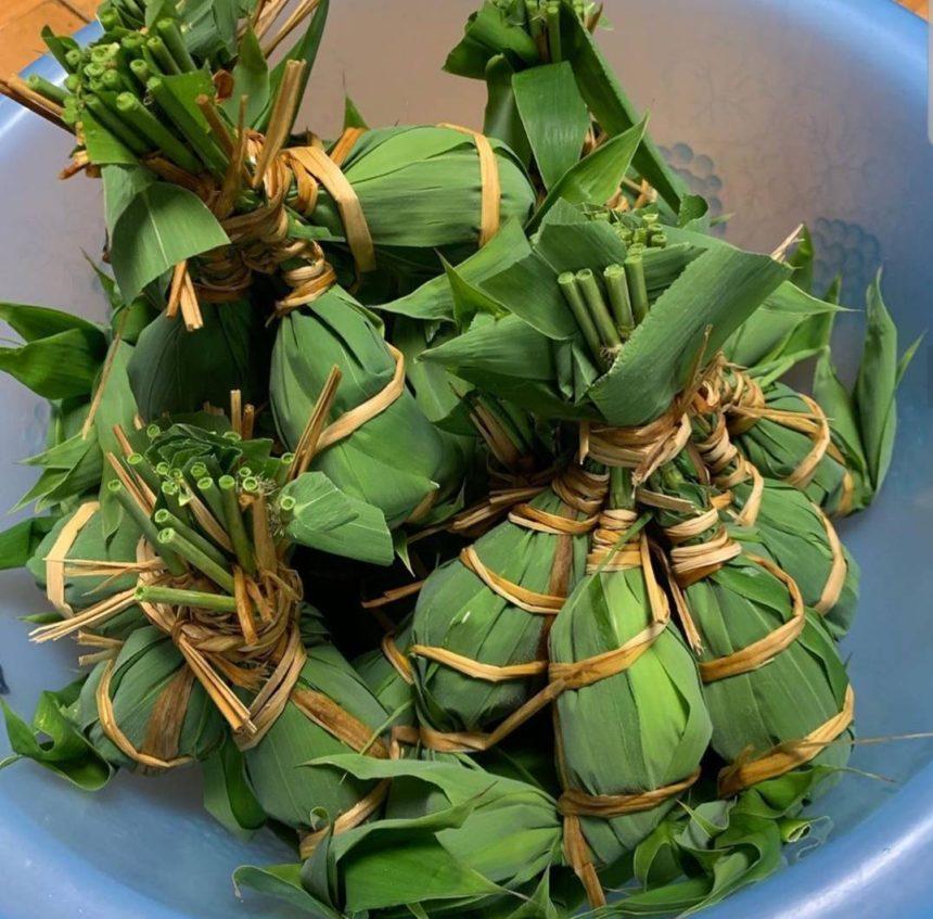 ※こちらは笹の葉で作った『よしまき団子』