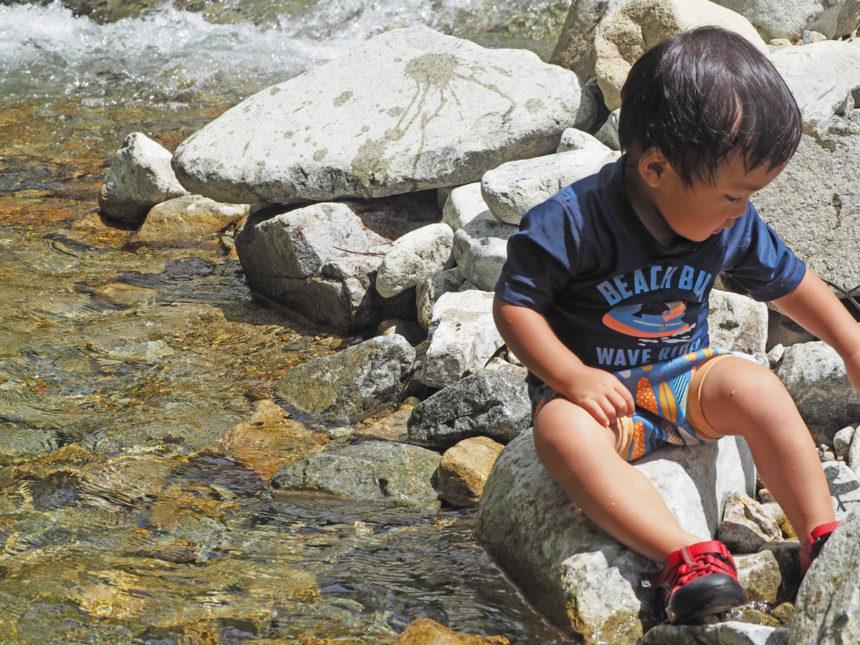 馬瀬 ブルーベリー狩り 川遊び